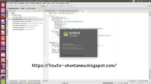 android stuido how to install program on ubuntu how to install android studio