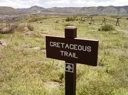 south table mountain trail file cretaceous trail sign south table mountain jpg wikimedia commons