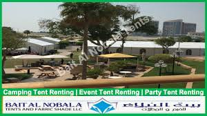 renting a tent rental tent in sharjah
