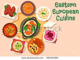 european cuisine eastern european cuisine icon pork shank เวกเตอร สต อก 590492366