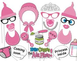printable girly photo booth props fishing photobooth party props set 17 piece printable