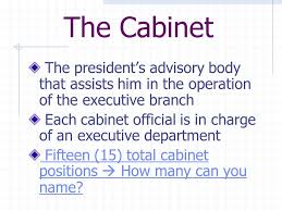 15 Cabinet Positions Executive Branch What Do You Know 1 How Many Presidents Have We