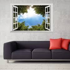 3d Wallpaper Home Decor Online Get Cheap 3d Landscape Wallpaper Window Aliexpress Com