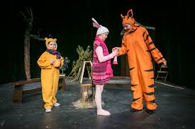 house at pooh corner moves to sunset players u0027 stage behind the