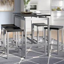kitchen bar stool and table set pub tables bistro sets you ll love wayfair