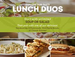 lunch duo starting at 6 99 lunch dinner menu olive garden