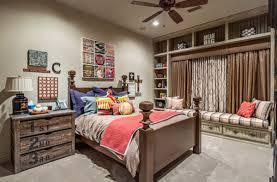chambre à coucher rustique design interieur chambre coucher rustique ventilateur lit bois 26