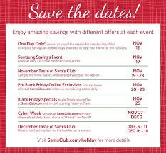 sam s club store hours events