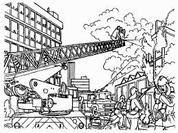 coloring fire department coloring pages