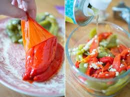huile cuisine recette de poivrons marinés à l huile d olive ail et basilic