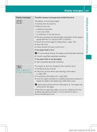 oil level mercedes benz c class sedan 2013 w204 owner u0027s manual