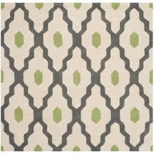 safavieh milan shag gray 7 ft x 7 ft square area rug sg180 8080