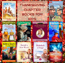 thanksgiving chapter books for desperate homeschoolers