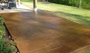2017 Stamped Concrete Patio Cost Stamped Concrete Patio Cost U0026 Designs Concrete Craft