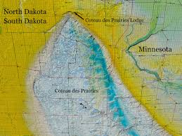 North European Plain Map by The Legends Coteau Des Prairies Lodge