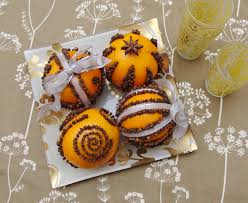 fragrant and lovely pomanders the winter centerpiece for
