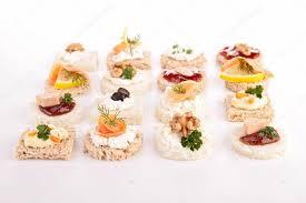 canap toast assortment of canapes toast stock photo studiom 31742133