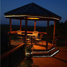 Outdoor Rope Lighting Ideas Gracious Solar Rope Light Blue Led Rope Light Outdoor Event