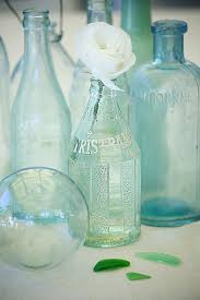 coastal vintage bottles for beachy nautical decor vintage