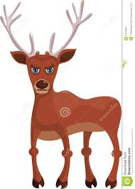 reindeer clipart angry pencil and in color reindeer clipart angry