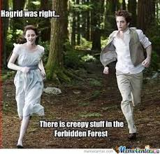 Funny Twilight Memes - twilight and harry potter by awesomeone meme center