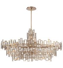 Island Lighting Metropolitan Lighting N6679 274 Bel Mondo 21 Light Luxor Gold