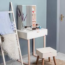 Cermin Rp compact vanity meja duco satu laci kotak cermin diatas