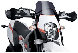 puig new generation windscreen ktm 690 supermoto smc r 2012