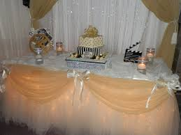 Sweet 16 Table Centerpieces Decor By Sbd Events Sweet 16 Cake Table Hollywood Them U2026 Flickr
