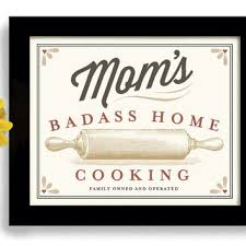 cooking gifts for mom mom birthday gift kitchen artwork home cooking art print cooking
