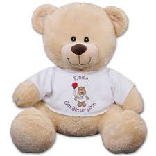 get well soon teddy get well plush animals personalized feel better bears