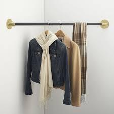 closet alternatives for hanging clothes charming design clothes hanger bar for closet metal rods chrome rod