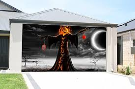 great stuff u2022 garage door halloween decorations