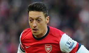 mesut ozil hair style teams ozil and vermaelen on the bench for arsenal odemwingie out