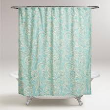 Paisley Shower Curtain Blue by Awesome Paisley Shower Curtains About Paisley Floral Shower