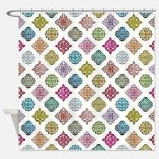 Colorful Fabric Shower Curtains Neon Colors Shower Curtains Neon Colors Fabric Shower Curtain Liner