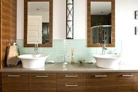 Glass Tile Backsplash Ideas Bathroom Tile Backsplash In Bathroom Justbeingmyself Me