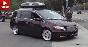 1000hp minivan instead if that hp number is actually accurate this honda odyssey minivan doesn t sound right or does it carscoops