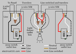 3 pole light switch wiring diagram one light two switches wiring