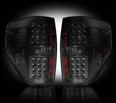 2012 f150 tail lights 264168bk ford f150 and raptor straight style side led tail lights