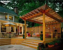 pergola design ideas deck with pergola building a deck with