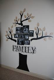 20 best family tree images on pinterest family trees home and full view of family tree wall