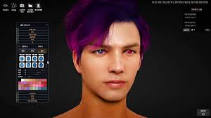 personalizing your hairstyle for a younger look black desert online young wizard customization youtube