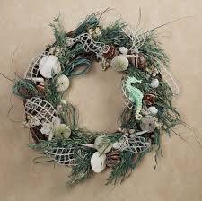 home decoration beautiful seashell wreath ideas for appealing