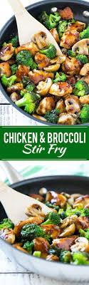 cuisiner brocoli chicken and broccoli stir fry it paleo recettes à
