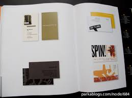 Best Of Business Card Design Book Review The Best Of Business Card Design 8 Parka Blogs