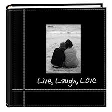 pioneer pioneerphotoalbums pioneer photo albums embroidered live laugh