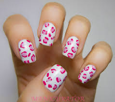 223 animal nail designs polish motif in white nail art