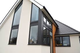 custom made aluminium windows anthracite grey windows and doors installed in kent dwl
