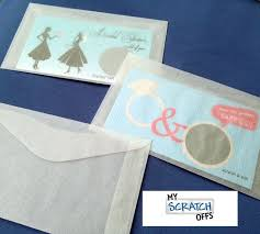 lottery ticket wedding favors 10 glassine envelopes wedding favors lottery scratch ticket